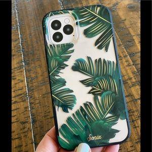NTW Sonix palm leaf 12 max or 12 pro case